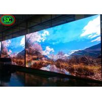 China IP34 P3 Indoor LED Full Color SMD Screen Video Wall 160000 Dots/sq Brightness IP34 For Concert / Stage on sale