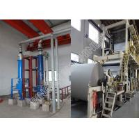 Quality Waste Recycling Printing Paper Making Machine 2600mm For News Printing wholesale