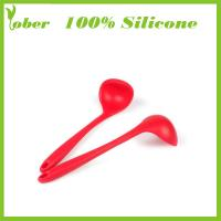 Quality 100% Silicone Custom Silicone Collapsible Kitchenwares Silicone Kitchen Tongs Set Silicone Kitchen Tools wholesale