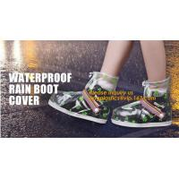 Quality PVC VAMP, PVC SOLE, PVC SHOES, PVC BOOTS,WATERPROOF RAIN BOOT COVER,reusable shoe rain cover ,waterproof safety rain boo wholesale