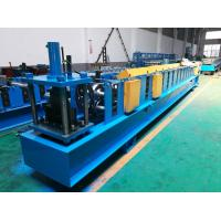 Quality Seamless Half Round Gutter Roll Forming Machine With Side Panel Structure wholesale