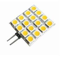 Quality Custom 180lm 5050SMD 12V 3W G4 Led Lamps Halogen Bulb Replacement 16pcs wholesale