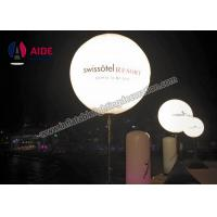 Cheap Outdoor Inflatable Lighting Decoration Led Stand Light Balloon Tripod Ball For Event Display for sale