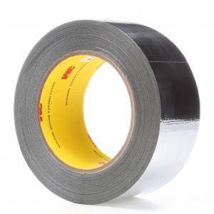 China 3M 363 / 3M 363L Glass Cloth Tape High Temperature Tape , Aluminum Foil Tape 0.19MM Silicone Transparent Adhesive on sale