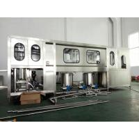 Quality Fully Automatic Drinking Water Filling Machine 600-3000BPH For 5 Gallon PET Bottle wholesale