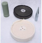"Quality Where to Buy Buffing Wheels cloth polishing wheel 8"" (1/2"" thick) wholesale"