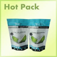 Buy cheap Food Grade Ziplock Plastic Stand Up Pouches For Coconut / Nuts Resealable product