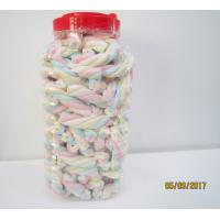 Quality Rope Shape Twisted Marshmallow Candy , Gourmet Marshmallow Easter Candy wholesale