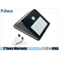 China Solar Power Led Work Light , 240 Lumens Outdoor Security Wall Lights on sale