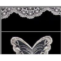 China 100% Polyester Non-Elastic Jacquard Lace Fabrics for Dress & Clothes on sale