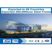 Buy cheap Outside Steel Fabricated Buildings Wind Resistance 50 - Year - Long Life Expectancy from wholesalers
