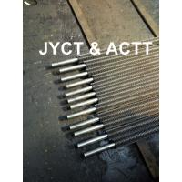 High Frequency Welded Helical Serrated Fin Tube For Infired Heater / Heat Exchangers