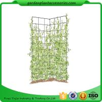 "Quality Two Panel Folding Screen Trellis , Garden Trellis Plant Support ​35-1/2"" W x 58"" H overall  Powder-coated steel wholesale"