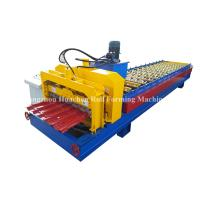 Buy cheap 1250 Width Panel Glazed Tile Roll Forming Machine For Steel Construction from wholesalers