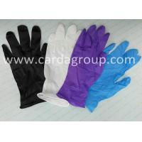 China Disposable Nitrile Gloves on sale