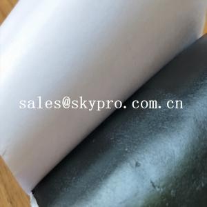 China OEM Double-sided Self Adhesive Rubber Butyl Tape Waterproof Butyl Sealing Tape on sale