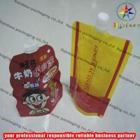 Quality Strong Freeze Resistance Spout Pouch Packaging For Liquid wholesale