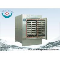 China Pass Through door Autoclave Steam Sterilizer With Temperature Sensor and Pressure Transducer on sale