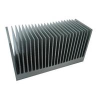 Quality Industrial Aluminum Heatsink Extrusion Profiles , with drill ,cutting ,tapping wholesale