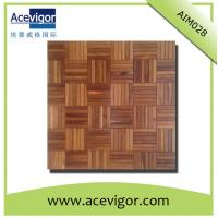 Quality Solid wood mosaic wall tiles with beautiful pattern for wall decoration wholesale