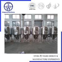 China Customized 500L Stainless Steel Fermentation Tank With 2 Years Warranty on sale
