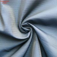 Quality F4297 100% polyester memory  fabric for outdoor jacket twill jacquard two tone weaving wholesale