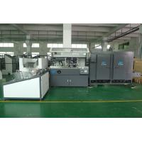 Quality PET / PP / PE Plastic  Container Automatic Silke Screen Printing Machine 4000pcs / hr With IR Dryer wholesale