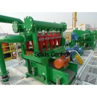 China Thailand city construction Mud cleaner with shale shaker, desander, desilter on sale
