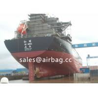 Quality Ship Launching Airbag Dia 2.0mx12m length , Natural rubber and 3 nylon fabric cords wholesale