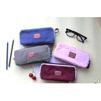 Quality supply all kinds of high school canvas pencil case wholesale