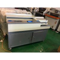 Quality Perfect Glue Spiral Binding Machine A4 Size 320mm With Sun / Slotting Knife wholesale