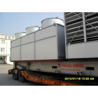 China High Efficiency Industrial Cooling Tower , Square Type Cooling Tower For Pharmaceutical on sale