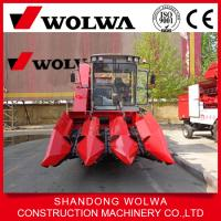 Quality Hot Sale W4YM-3A Corn Combine Harvester Wheel Self-propelled mini corn harvester wholesale