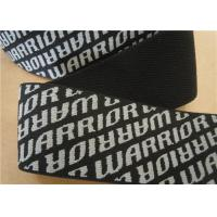 Cheap Coloured Woven Cotton Webbing Straps Black Washable Eco Friendly for sale