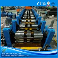 Quality Automatic Cold Roll Forming Machine Hydraulic Cutting U Purlin Shape ISO9001 wholesale