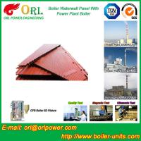 Quality Water Heater Boiler Membrane Wall Tube Boiler Parts Non Pollution wholesale