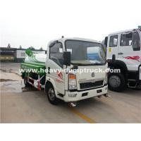 Buy cheap Right Hand Driving 8CBM Truck Mounted Water Tank With 140Hp Euro II Engine product