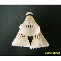 Quality Grade Three of Goose Feather Shuttlecock wholesale