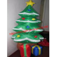 China 1.2M Inflatable Decorated Christmas Tree with Gifts Lawn Decoration on sale