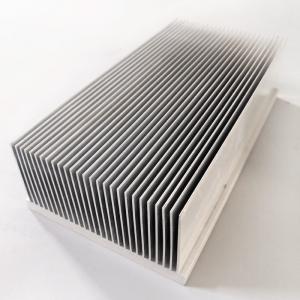 Heat Sink Radiator Industrial Aluminum Profile Al 6063 T5 For Electric Appliances