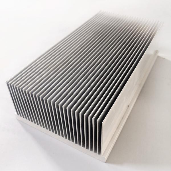 Cheap Heat Sink Radiator Industrial Aluminum Profile Al 6063 T5 For Electric Appliances for sale