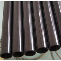 China High Glossy high strength 100% real carbon fiber tubes with factory price--Made in China diameter from 5 to 600mm on sale