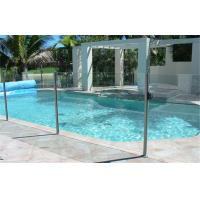 China Swimming Pool Safety Tempered Glass Sheets 19mm 20mm , Extra Large on sale