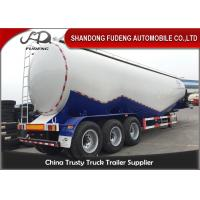 China 40-65 Cubic Meters W Shape  And  V Shape Bulk Cement Tanker Trailer on sale