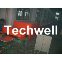 China Steel Tile PU Foam Sandwich Panel Machine Line For Roof Wall Sandwich Panels on sale