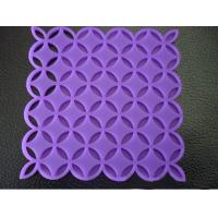 Quality Custom Purple Kitchen Silicone Mat, Heat Resistant Silicone Pad For Oven OEM / ODM wholesale