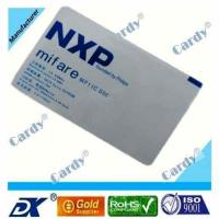 Quality rfid card /smart card with NXP Mifare 1k chip wholesale