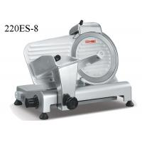 Quality Semi Automatic Food Preparation Equipments , Electric Frozen Meat Slicer With Sharpener wholesale