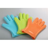 Cheap Food Grade Silicone Kitchen Glove Heat Resistant Bbq