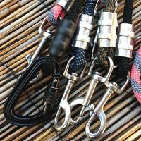 Recycled Climbing Rope Dog Leash For Dogs , Nylon / Polymer Fibers